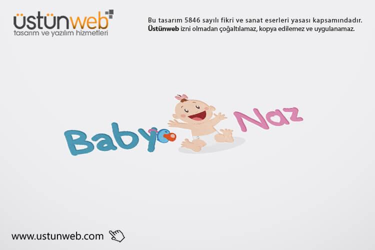 BABY NAZ Logo Tasarımı