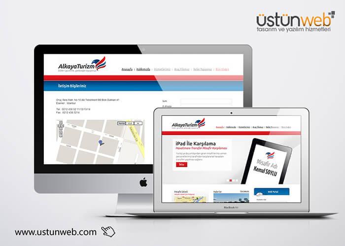 Alkaya Turizm Web Yazılımı