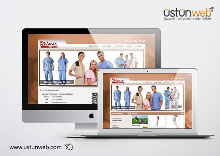 Arsev Medikal WebTasarımı