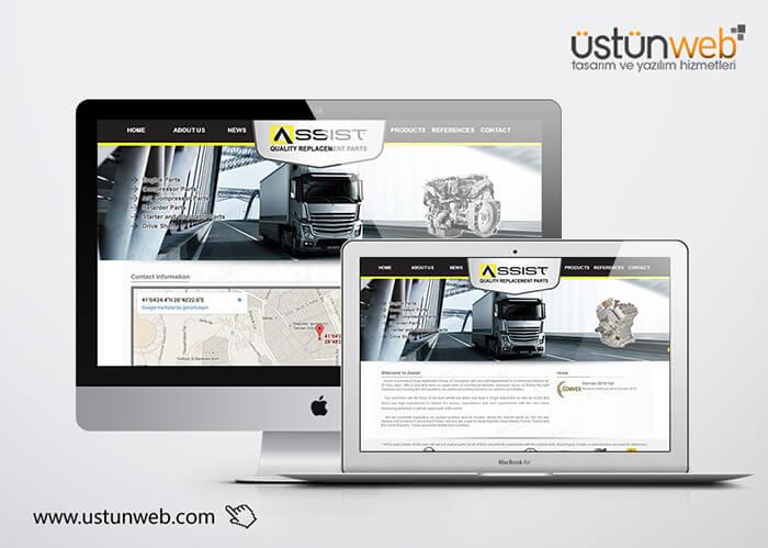 Assist Web Tasarımı