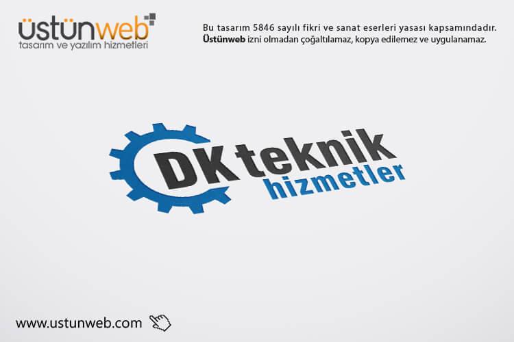 DK Teknik Hizmetler Logo Tasarımı