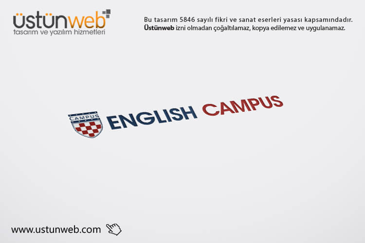 English Campus Logo Tasarımı