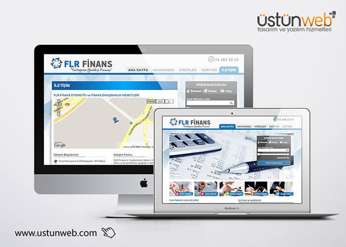FLR Finans Web Tasarımı