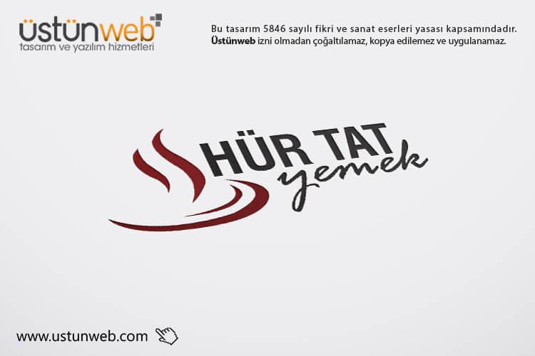 Hür Tat Yemek Logo Tasarımı