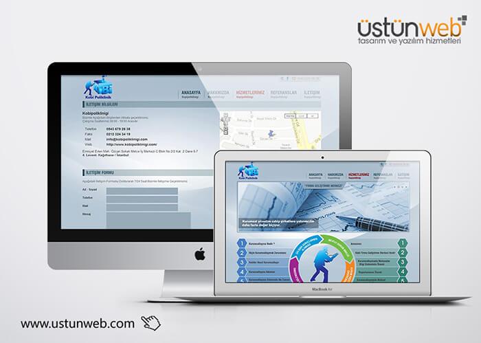 Kobi Polikliniği Web Tasarımı