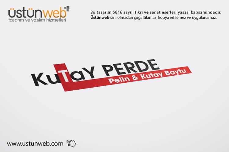 Kutay Perde Logo Tasarımı