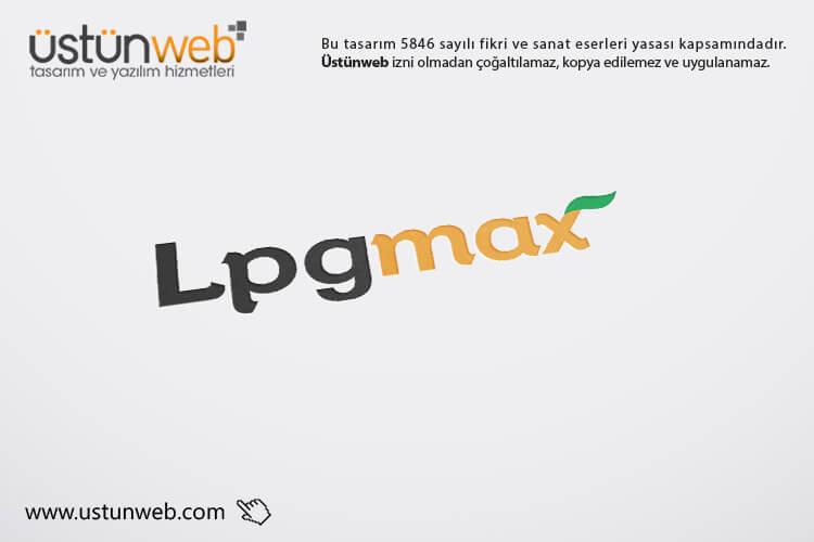 Lpg Max Logo Tasarımı