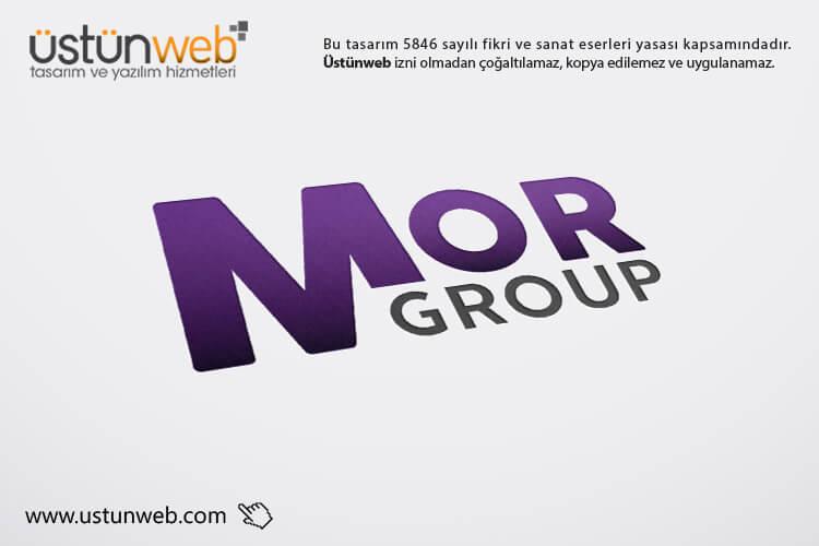Mor Group Logo Tasarımı
