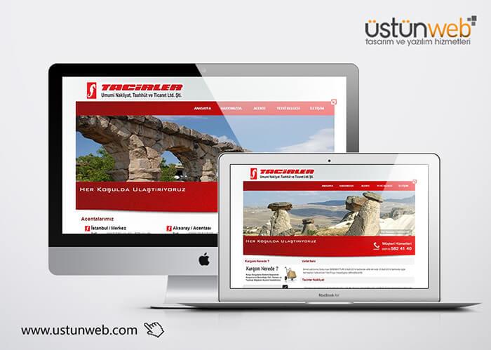 Tacirler Nakliyat Web Tasarımı