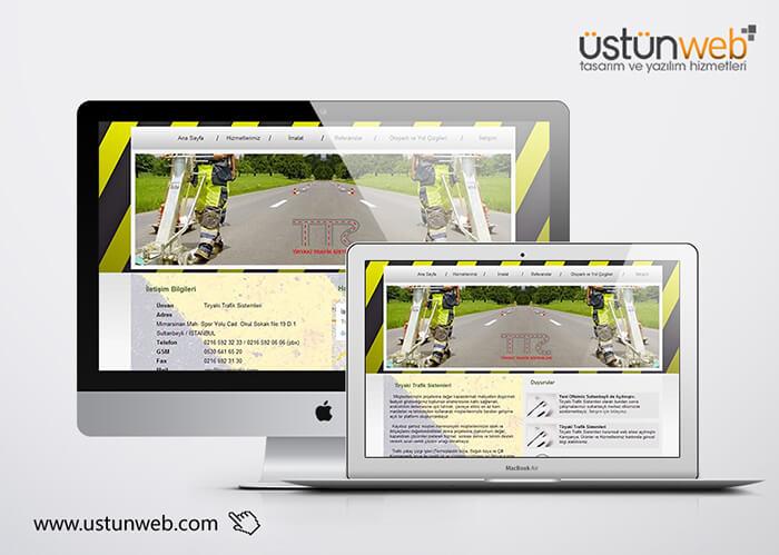 Tiryaki Trafik Web Tasarımı