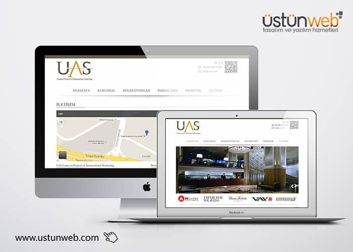 UAS Tekstil Kurumsal Web Tasarımı