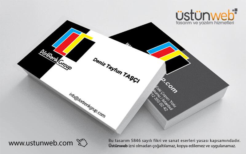 Dört Renk Group Kartvizit Tasarımı