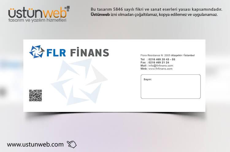 FLR Finans Zarf Tasarımı