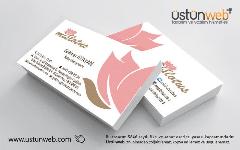 Mis Lotus Kartvizit Tasarımı