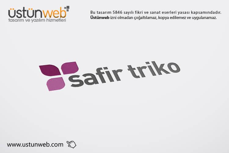 Safir Triko Logo Tasarımı