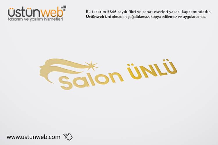 Salon Ünlü Logo Tasarımı