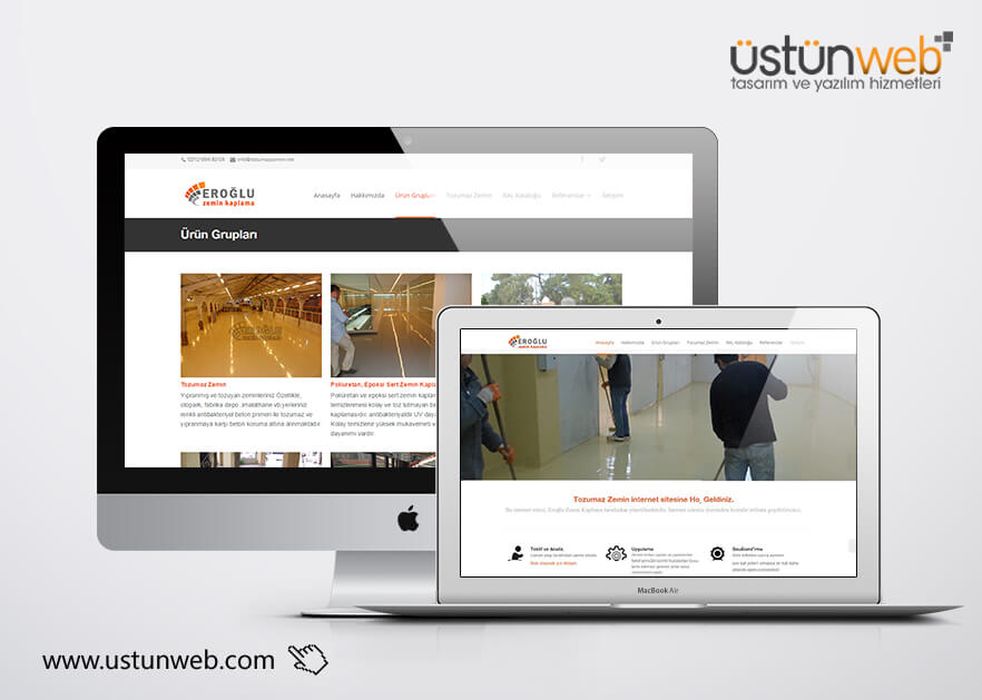 Tozumaz Zemin Web Yazılımı