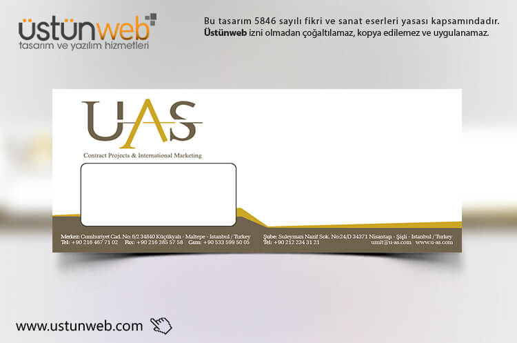 UAS Tekstil Zarf Tasarımı