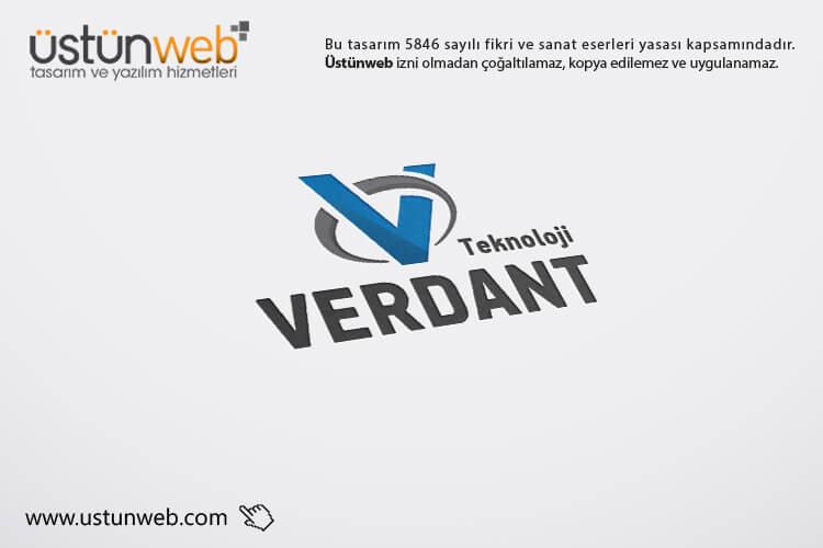 Verdant Teknoloji Logo Tasarımı