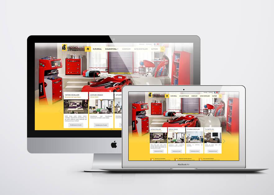Sedki Group Web Tasarımı